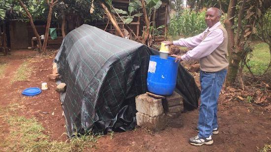 (B)energy partner feeding biogas system