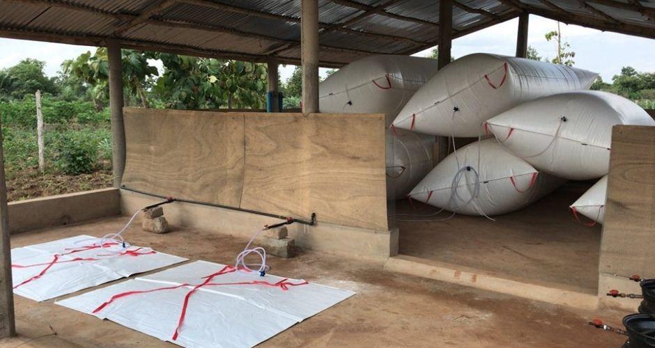 (B)energy biogas storage bags