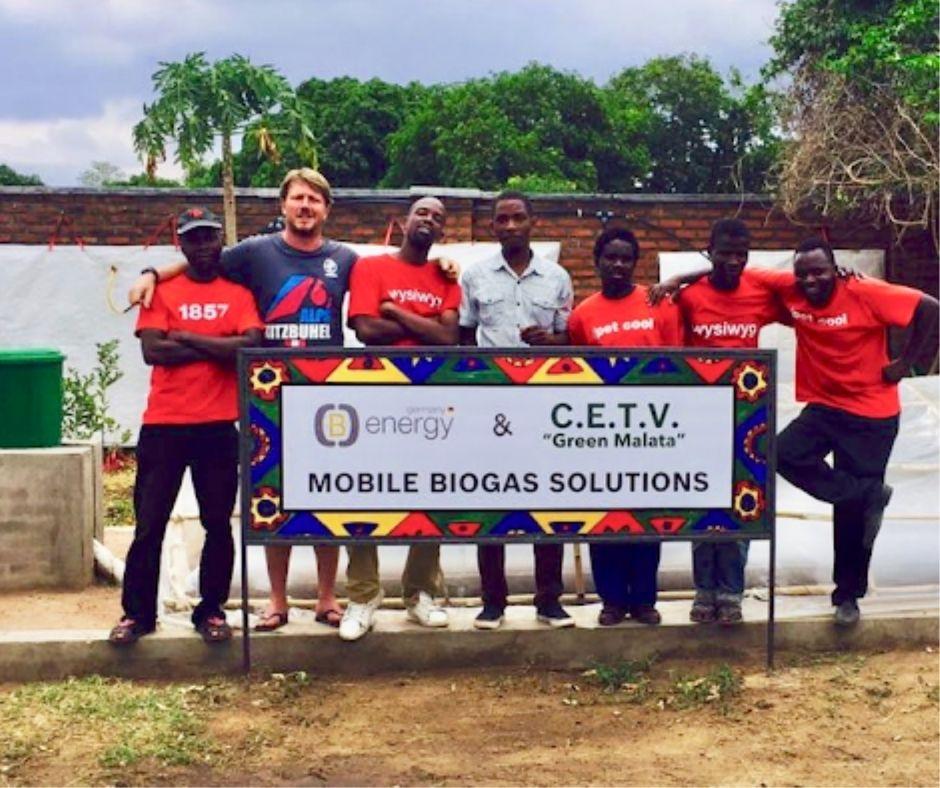 (B)energy group picture biogas entrepreneurs